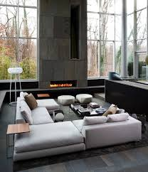 Modern Design Of Living Room 27 Mesmerizing Minimalist Fireplace Ideas For Your Living Room