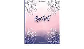 Rachel Academic Planner 2018 Aug 2019 July