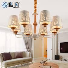 秋凡 chandelier simple european chandelier living room lamp modern atmosphere home american living room dining