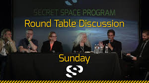 round table discussion sunday secret space program conference 2016 san mateo you