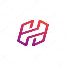 Creative Letter H Creative Letter H Symbol Stock Vector