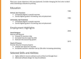 Resume Template First Job Resume Templates And Resume Builder My