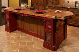 ... Tile Design Idea Kitchen Kitchen Large Size Unique Wooden Kitchen  Island And Black Faucet Feat Contemporary Kitchen Floor Ceramic ...