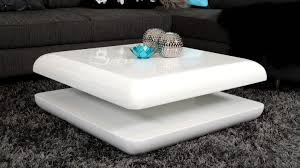 coffee table modern white round white