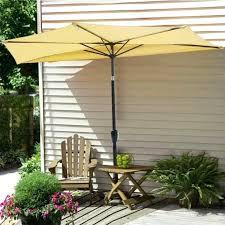 wall mount umbrella outdoor ft patio wall mounted umbrella com beige outdoor half tilting wall