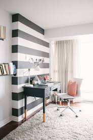 cool office decor ideas cool. Patterns On The Wall Designate Desk Zone Cool Office Decor Ideas E