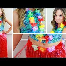 get ready with me party hawaiian hair makeup diy hawaiian dress for party vera