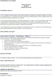Cute Dentist Cv Example Uk Pictures Inspiration Documentation