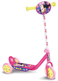 Disney Minnie Mouse 3 Wiel Kinderstep Girls Pinkyellow Internet Bikes