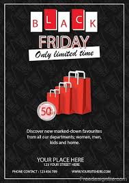 Black Flyer Backgrounds Black Friday Sale Flyer Template Design Vector 01 Free Download
