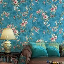 European Style Non-woven Wallpaper Classic Wall Paper Roll ...