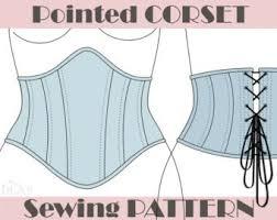 Corset Pattern New Corset Pattern Etsy