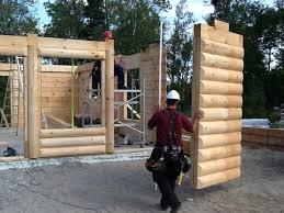 14 bois rond installation