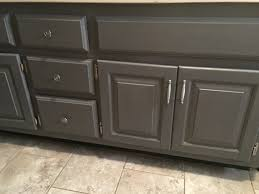 Bathroom Paint Finish General Finishes Milk Paint Driftwood Gray Bathroom Vanity