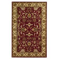 home decorators collection constantine burgundy 8 ft x 11 ft