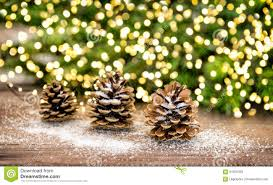 Christmas Tree Cone With Lights Pine Cone And Christmas Tree Branches With Lights Decoration