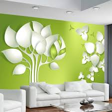 office wall murals. 3D Stereo Abstract Tree Flower TV Background Wall Murals Wallpaper Office Living Room Decoration Paper