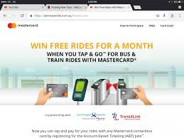 mastercard to pay for mrt and bus rides no need ez link lite ez mycarforum