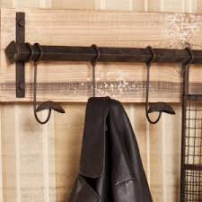 Distressed Wood Coat Rack Southern Enterprises Distressed Fir Wall Mounted Coat RackHD100 99