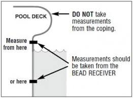 how to measure for an inground pool liner intheswim pool blog Inground Pool Diagram how to get an accurate measurement of length and width of your liner inground pool diagram