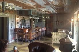 Diy rustic bar Basement Diy Bar Made Old Barn Scraps Ultimate Man Cave Tierra Este Diy Bar Made Old Barn Scraps Ultimate Man Cave Tierra Este 56620