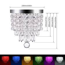 lohas crystal chandelier lighting 100 watt equivalent 15w multicolor ceiling lamp smart wifi light bulb 8 66 chandeliers lighting fixture