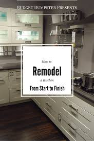 Professional Kitchen Flooring How To Remodel A Kitchen From Start To Finish