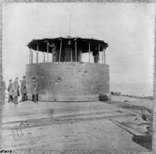 「The USS Monitor's unique revolving turrets」の画像検索結果