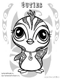Little cute penguin with scarf coloring page for kids and adults vector. Cuties Penguin Coloring Pages Penguin Coloring Pages Animal Coloring Pages Animal Coloring Books