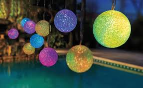 add color to your outdoor living space with color changing patio lights stake the solar panel into the ground so it receives sunlight during the day
