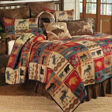 Lodge Bedroom Furniture Rustic Bedding Cabin Bedding Black Forest Decor
