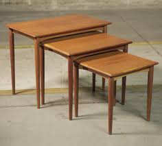 Parker vintage furniture  Nest of tables