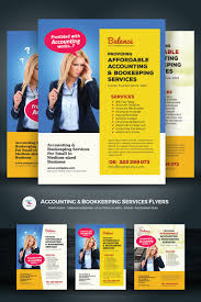 Services Flyer Accounting Bookkeeping Services Flyers Corporate Identity Template