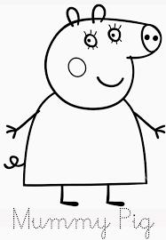Stampa E Colora Disegni Affascinante Peppa Pig Disegni Da Stampare