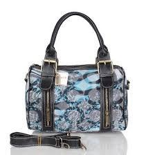 Coach Poppy In Signature Medium Blue Luggage Bags CEB