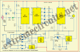 remote control circuit diagram fan regulator remote controlled fan regulator circuit diagram on remote control circuit diagram fan regulator