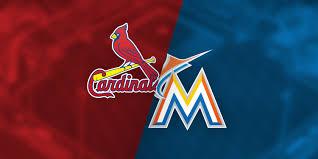 3 16 18 St Louis Cardinals Vs Miami Marlins Roger Dean