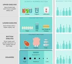 Infographic Keeping It Fresh In The Fridge Kcet
