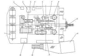 Электропривод экскаватора Реферат страница  Рисунок 1 Экскаватор ЭДГ 3 2 30 План расположения основного оборудования на поворотной платформе