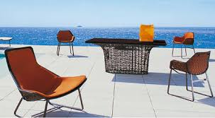 trendy outdoor furniture. Kettal Maia Furniture Outdoor The Collection: A Truly Modern Design With Trendy
