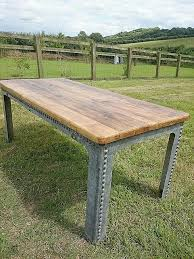 converted riveted galvanized water tank coffee tables with illumination galvanized coffee tables