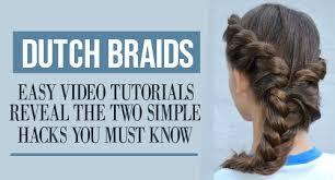 step by step dutch braid tutorial for