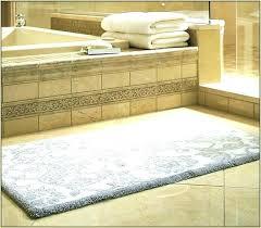 custom bath rug rugs stunning modern aats size bathroom sizes brown blue
