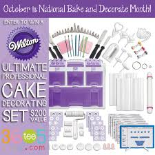 Wilton Cake Decorating Accessories Amazing October Is National Bake And Decorate Month Enter To Win A 32