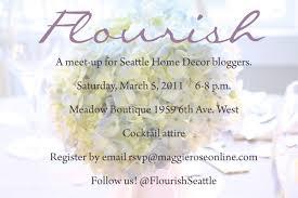 Small Picture Flourish Blogger Meet Up Seattle Washington Michaela Noelle