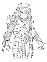 Small Picture Predator coloring pages to download and print for free