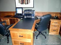 t shaped office desk. T Shaped Office Desk Luxury L For Two People Medium Size Of E
