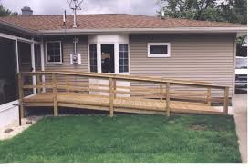 how to build a wheelchair ramp in your garage ramps for homes