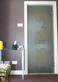 hinged interior glass doors walls uk