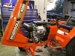 case garden tractor repower ingersoll case 446